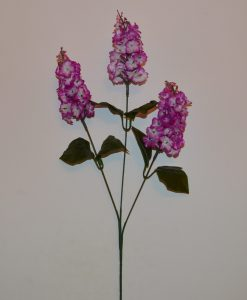 Искусственные цветы Ветка сирени 3-ка B-24