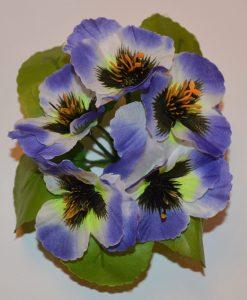 Искусственные цветы- заливка анютка Z-39