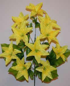 Искусственные цветы —Лилия односторонка 10-ка R-342