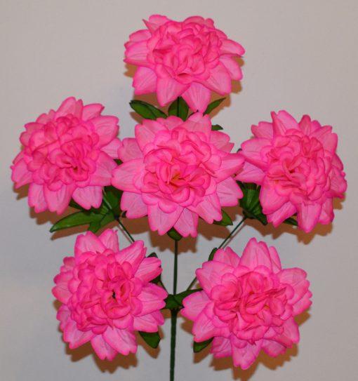 Искусственные цветы —Гортензийка атласная 6-ка R-378