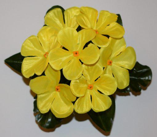 Искусственный цветок -заливка Прымулка крупная атлас 7-ка Z-47