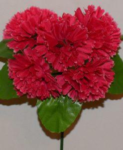 Искусственные цветы-Гвоздика 5-ка Z-51