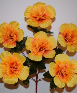 Искусственные цветы —Мальва пышная голова 6-ка R-425