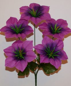 Искусственные цветы -Лилийка 5-ка R-763