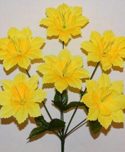 Искусственные цветы -Звездочка дешовая 6-ка R-469