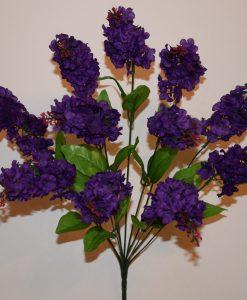Искусственные цветы-Сирень 11 голов R-817