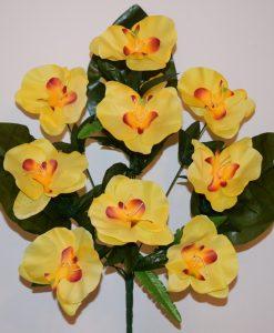 Искусственные цветы -Орхидея большая 10-ка R-560