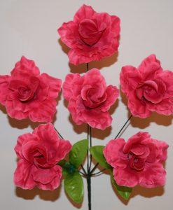 Искусственные цветы —Роза 6-ка непрес R-685