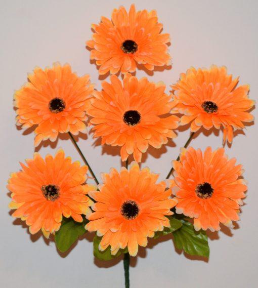 Искусственные цветы -Герберка 7-ка R-459