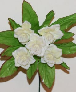 Искусственные цветы-заливка Нарцис пластмасовый 5-ка Z-81