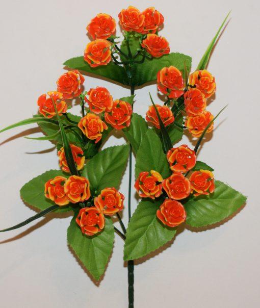 Искусственные цветы-Роза камелия пластмасовая R-738