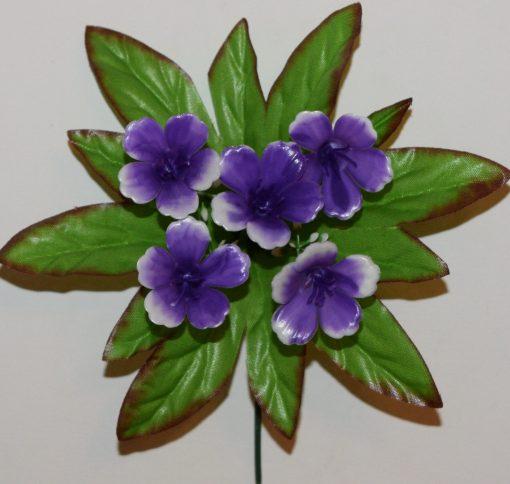 Искусственные цветы-заливка-Колокольчик пластмасовый 5-ка Z-82