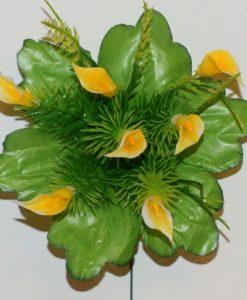 Искусственные цветы-заливка-Кала пластмасовая 7-ка Z-80