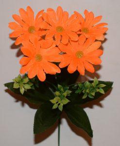 Искусственный цветок - Ромашка с пластмаской 5-ка Z-89