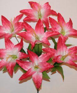 Искусственные цветы-Лилия атласная 7-ка R-923