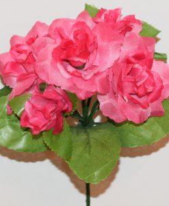Искусственный цветок -Розочка 5-ка Z-91
