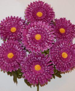 Искусственные цветы Ромашка-гербера большая R-966