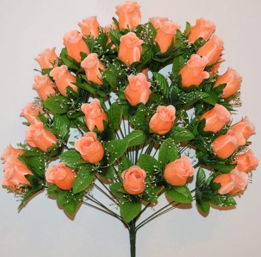 Искусственные цветы-Бутон с пластмасками 36 голов не прес R-873