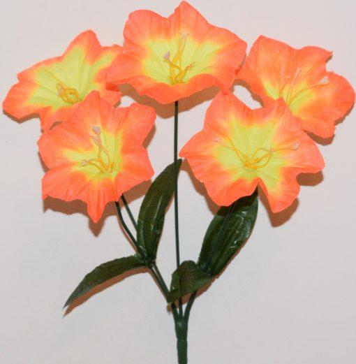 Искусственные цветы-Колокольчик 5-ка R-939