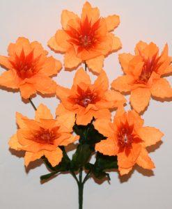 Искусственные цветы —Крокус твердая средина 6-ка R-859