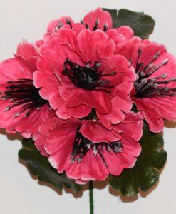 Искусственный цветок- Мачок цветной Z-99