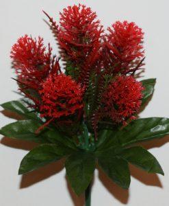 Искусственные цветы- Головка Гвоздичка цветная G-58