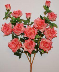 Искусственные цветы-Роза дерево атлас 13-ка R-1140