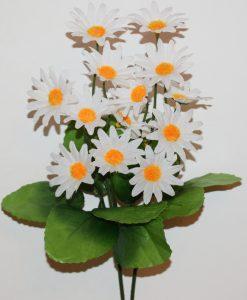 Искусственные цветы- заливка Ромашка каскадная Z-101